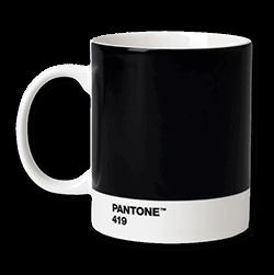 Pantonemugg black