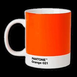Pantonemugg orange