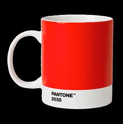 Pantonemugg red