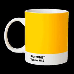 Pantonemugg yellow